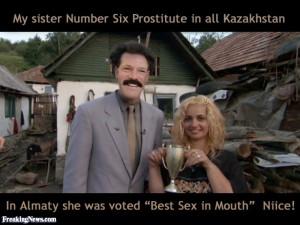 Eliot Spitzer as Borat