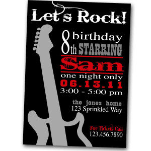Rock And Roll Birthday