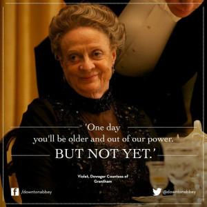 Lady Violet | Downton Abbey