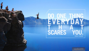 How to Get Yourself to Do the Things That Scare the Sh*t Out of You