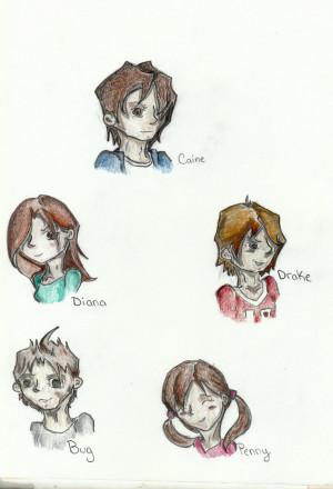 Diana Coates Coates kids by xdemon-pencilx