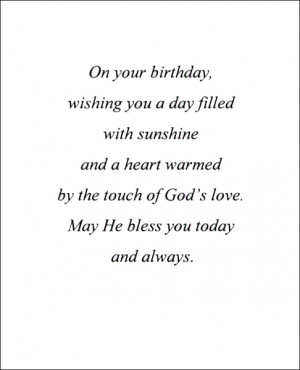 View Birthday Verse