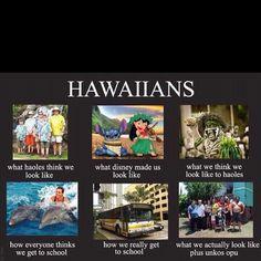Hawaiian and proud!