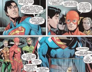 Superman Comic Quotes Superman's utopia is possible