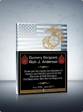 Home > Military Plaques > Military Service Plaque