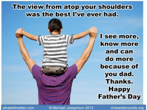happy father s day by michael josephson on june 14 2013 in quotes ...
