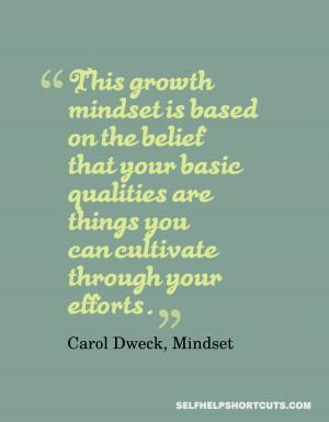 Mindset Quotes Dweck