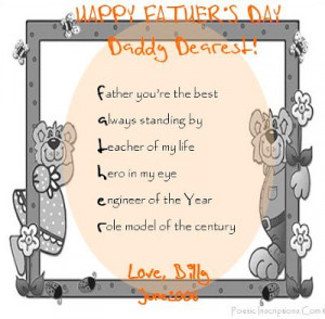 Poems for Father's Day