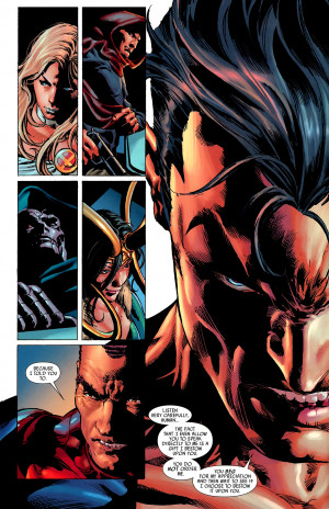 Respect Namor, or have him throw a tidal wave at your city