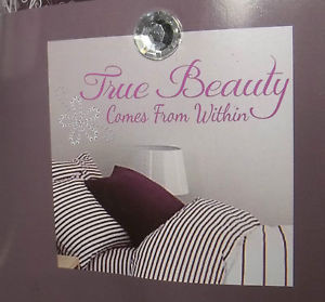 GEM-QUOTES-True-Beauty-REPOSITIONABLE-WALL-DECALS-STICKERS-LETTERING-8