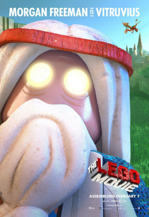 THE LEGO MOVIE Character Poster – Vitruvius Voiced By Morgan Freeman