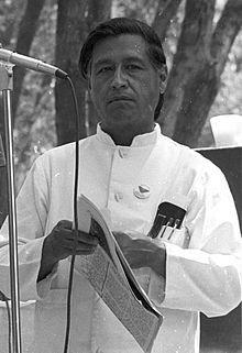 César Chávez - Famous Vegetarians