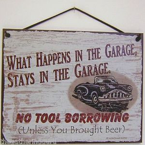 ... -Happens-The-Garage-Stays-Car-Quote-Saying-Wood-Sign-Board-Wall-Decor