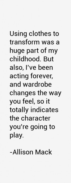 Allison Mack Quotes & Sayings