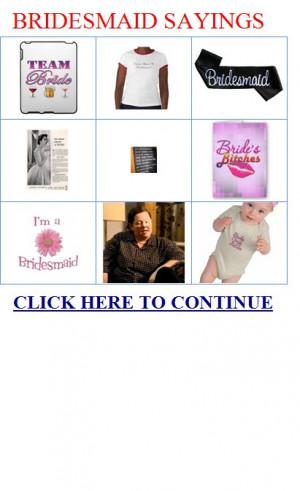 Bridesmaid sayings Bridal party gifts|BRIDESMAID-SAYINGS