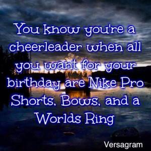 cheer #cheerquotes #Worldsring #Nikeproshorts #trampoline #bows # ...