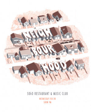 The Neighbourhood Band Poster