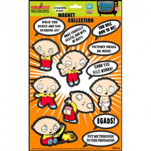 Family Guy Stewie Quotes Magnet Set