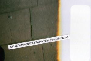 Silence (por Hannah Louise Curson )
