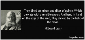 More Edward Lear Quotes