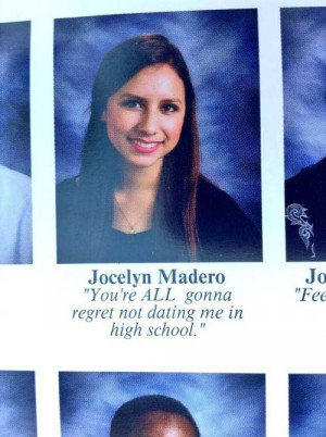 Could These Be The 36 Funniest Senior Yearbook Quotes Of 2014?