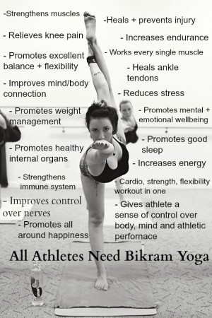 Bikram Yoga for athletes
