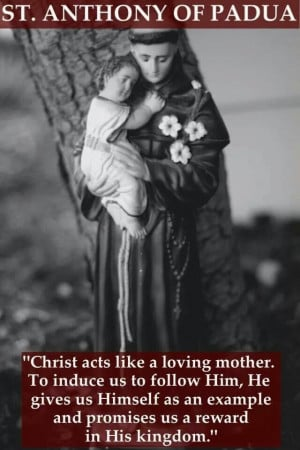 St. Anthony of Padua quotes