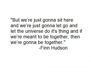 cory monteith, finn hudson, glee, quotes, rip