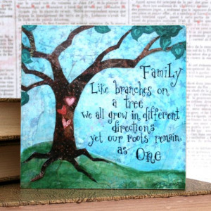 family quotes for pictures family tree artfamily quote mixed media art
