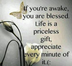 Appreciate. Life