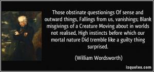 More William Wordsworth Quotes