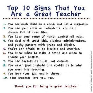 Teacher quote #8