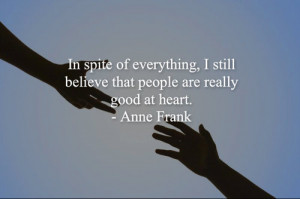 ... image include: diary of anne frank, good, heart, history and holocaust