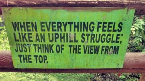 The View From The Top - Positive Quote