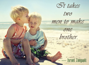 israel zangwill quote about siblings