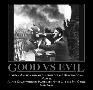 Good Vs Evil by MexPirateRed