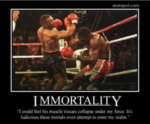 ... BlogHahaha, gold! Motivational posters with quotes from Mike Tyson