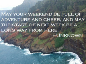 weekend quotes funny