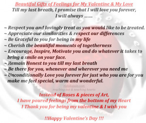 Valentines Day , Beautiful Gifts for Valentines Day, Feelings of love ...