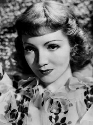 Eugene Robert Richee: Claudette Colbert , 1938