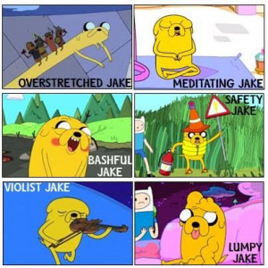 Jake The Dog!!!- Adventure Time