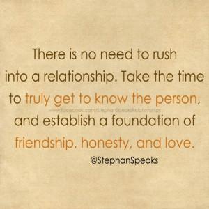 friendship into relationship quotes quotesgram