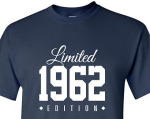 1962 Limited Edition 2015 53rd Birthday Party Shirt, 53 years old ...