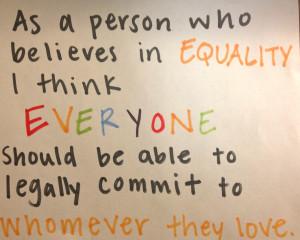 Barack Obama Forward Equal Rights President Election