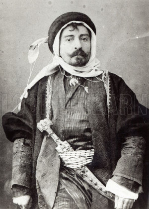 Pierre Loti in Arabic Costume
