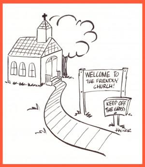 Funny Church Cartoons Cartoon-church. humorous 0