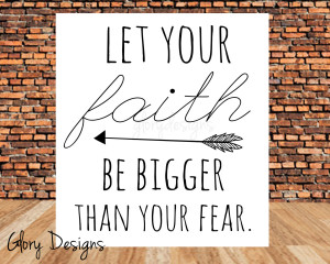 No Fear Quotes Bible Bible verse inspirational faith no fear let your ...