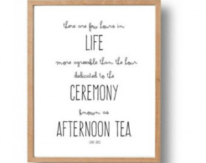 Popular items for tea quote