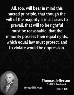 ... , which equal law must protect, and to violate would be oppression