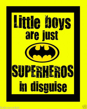 Little Boys Superhero